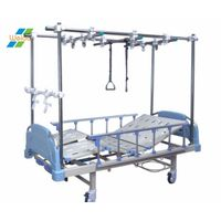 Four cranks ABS orthopedic traction bed with double traction thumbnail image