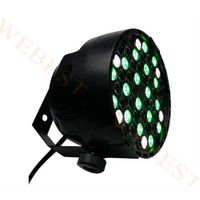 Plastic LED Par 54*1W RGBW Light