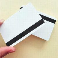Magnetic stripe 2 track PVC Smart IC card for hotel door lock card thumbnail image