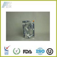 Translucent front Aluminium pouch