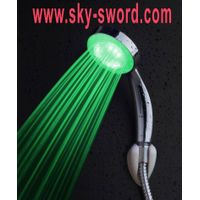 water pressure power temperature controll led shower head