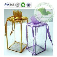 Eco-friendly Transparent Laminated PVC Zipper with Handle Gift Bag thumbnail image