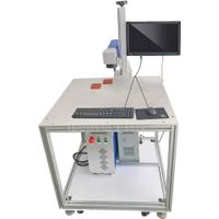 High quality Ultraviolet Maker UV Laser Marking Machine for Glass PCB metal wood thumbnail image