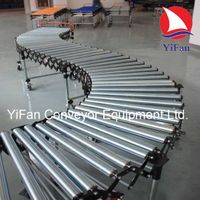 Flexible Expandable Gravity Roller Conveyor