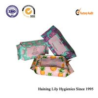 OEM Hot Sale Disposable pocket mini cleaning wet wipes small pack