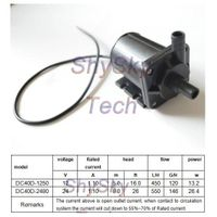 12V / 24V Micro DC Magnetic Isolation Pump DC40D Series Low Noise For Spraying / Medical / Industria
