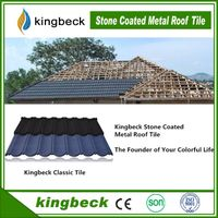 Kingbeck Stone Chips Coated Steel Roof Tile