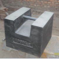 Lock style cast iron test weight 1000KG