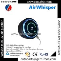 AirWhisper- 2021 new universal auto parts wholesale, China air purifier UV air sterilizer for car