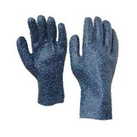 PVC Gloves,Sandy finish