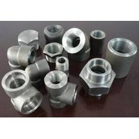 forged steel thread soketed  pipe fitting tee AMSE B16.11