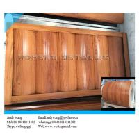 Wooden grain prepainted steel sheet