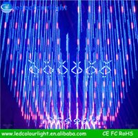 015 Christmas decoration meteor starfall led tube light led christmas tree cascading light decoratio