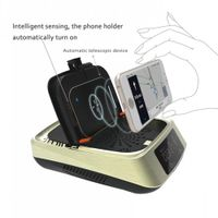 Portable Mini Wireless Charging Smart Car Cigarette Smoke Air Purifier