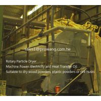 Rotary Particle Dryer