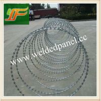 China best selling Hot-Dipped Galvanized and pvc coated razor Barbed Wire thumbnail image