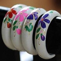 Chinese Vogue Fashion Wooden Bracelet Jewelry Supplier