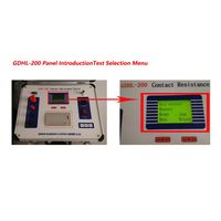200 A Micro-ohmmeter With Dualground Safety Circuit Breaker Contact Resistance Tester thumbnail image