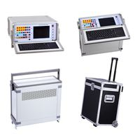 Microcomputer AC DC 3 / 6 Phase Protection Relay Tester Secondary Injection Tester thumbnail image