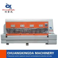 ckd 3+5 automatic stone side line polishing machine
