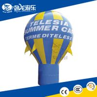 Inflatable balloon, inflatable advertising balloon