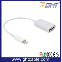 USB 3.0 OTG Cable Braided Type C to USB Extension Cable