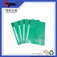 PP Stationery Supplier A4 Report Cover Loose Paper Customized Transparent File Folder thumbnail image