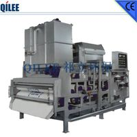 Chemical Industry Sludge Filter Press SS304 Materials