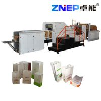ZD-F330 ZNEP China lowest price food shopping Square Bottom Block Bottom Paper Bag Making Machine