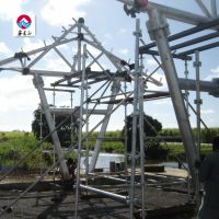 Chinese easy install prefabricated steel structure pipe truss workshop