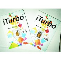 Wholesale - ios7.1 iTurbo unlock sim card New Unlock for iPhone 4s/5/5c/5suse 3G sim card work EDGE