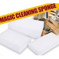 White Handy Size Melamine Magic Sponge Eraser thumbnail image