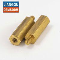 Vermiculite Copper Column Screw Single-headed Hexagonal Brass Nut Isolated Standoffs thumbnail image