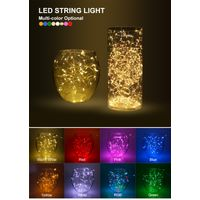 10M Copper Wire LED String lights Holiday lighting Fairy Garland For Christmas Tree light thumbnail image