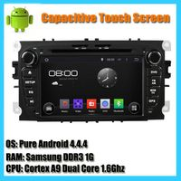 Ford Focus 2 Mondeo S-Max Auto Radio android 4.4 car dvd player GPS Navigation with HD 1024*600