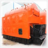 Rectangle Style Hot water coal fired boiler