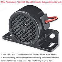 Medium Duty White Sound Vehicle Reversing Alarm (TOP-892WNA-92/97)