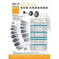 UNION BRUSH - Industrial Guide Auto Range Brush-6mm round spindle to suit Die Grinder or Drill. thumbnail image