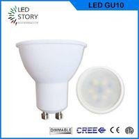 Hot sale dimmable 5w GU10 LED Spotlight 220v 15 beam