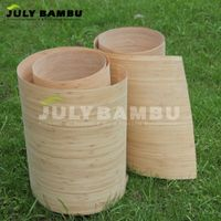 New Design carbonized 0.5mm thickness flexible bamboo wood veneer