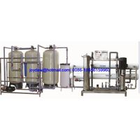 4000L/H RO system water purification line