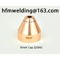 100-105A Shield cap 220993 for HYPERTHERM power max 105,plasma cuting welding