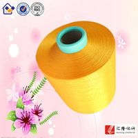 100% dope dyed 150d polyester yarn