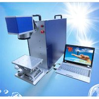 Desktop/portable 20w fiber laser marking machine for sale