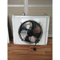 Aluminum radiator with circular tube thumbnail image