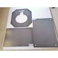 NSiC Plate Slab Batt with nitride bonded SiC ceramic (kiln shelves) silicon carbide SiC plates thumbnail image