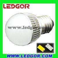 China supplier SMD 5630 4W 5W G45 led bulb light thumbnail image
