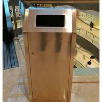 Durable Indoors Trash Bin [Shopping Mall - Galvanized Steel] [FREE SHIPPING] thumbnail image