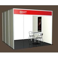 Standard exhibition booth/trade show/aluminum profile/8-ways system
