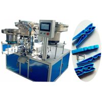 clothespin assembly machine/cloth clip assembly machine thumbnail image